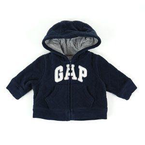 GAP hoodie, boy's size 0-3M